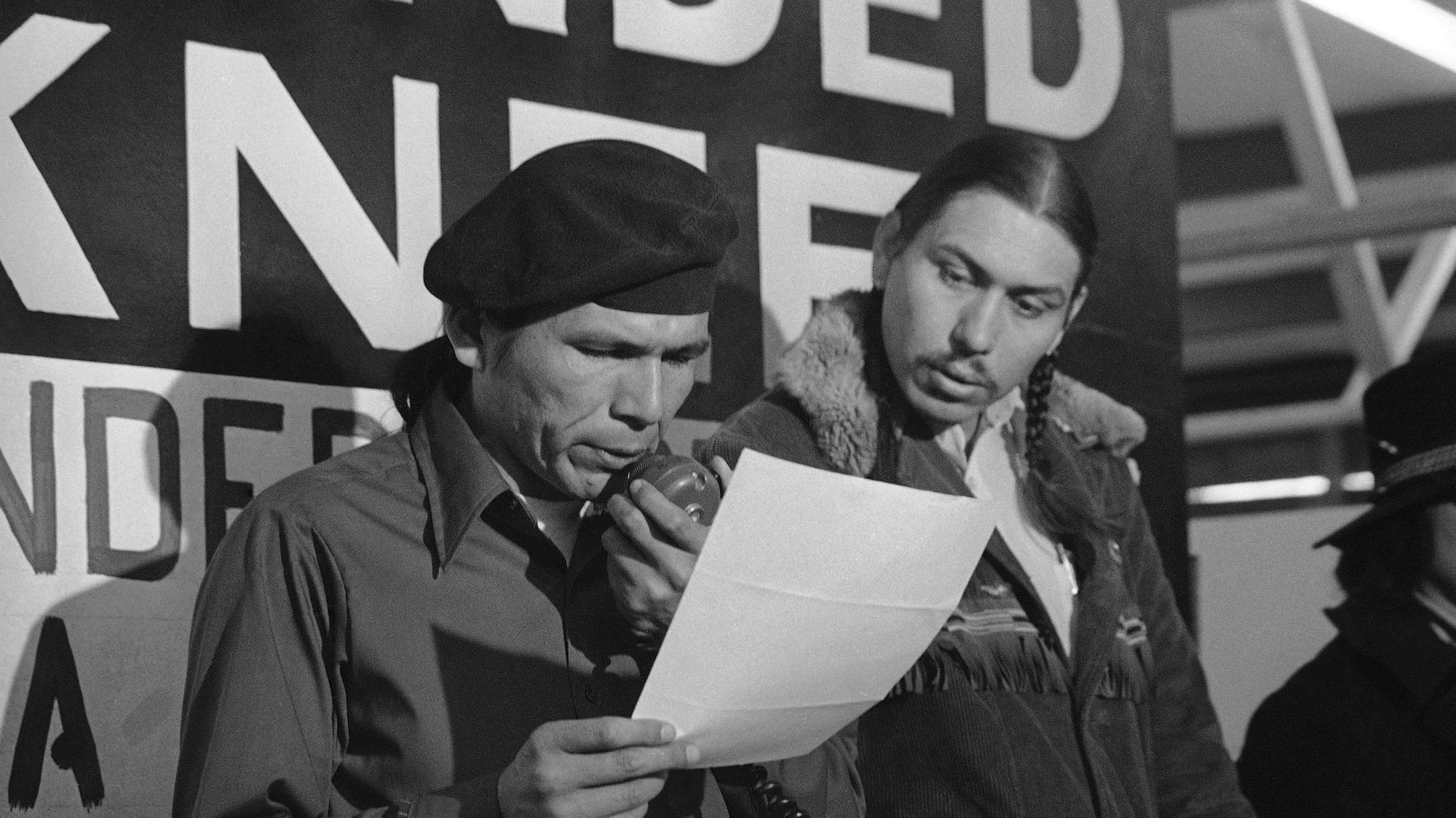 Photo of People's hero, AIM founder Dennis Banks 1937-2017
