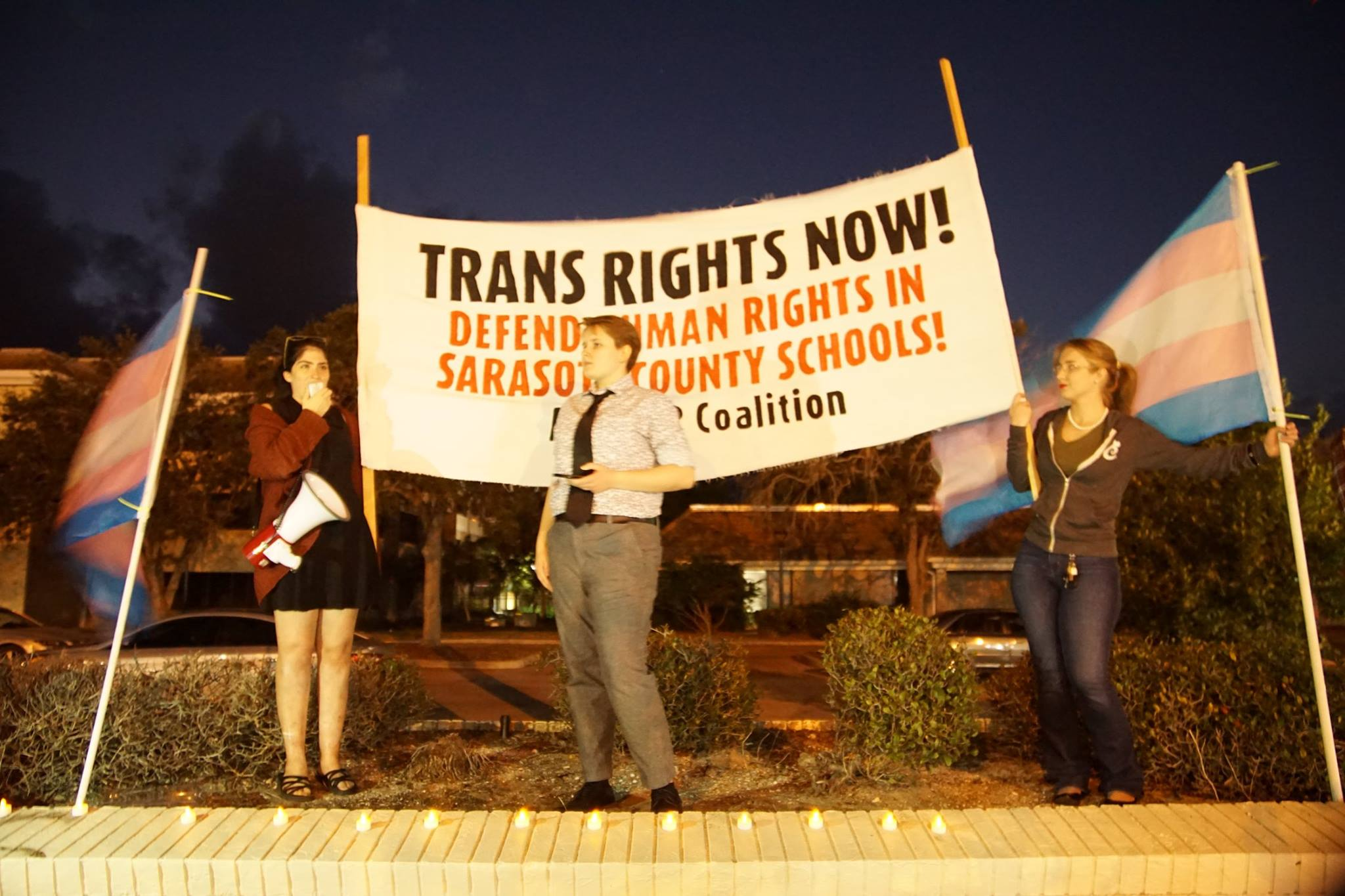 Trans Day of Remembrance in Sarasota, Fla  | Liberation News