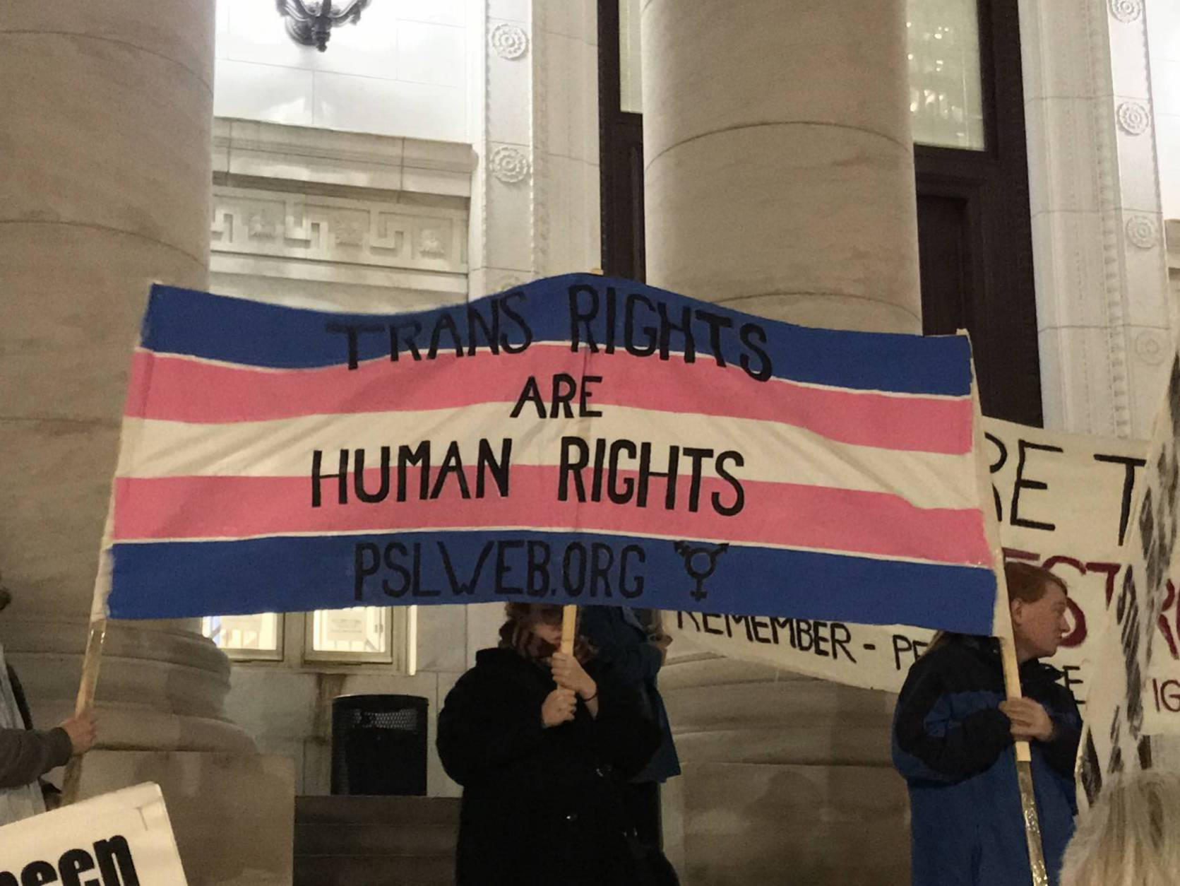 Photo of New Haven speaks out for Trans Day of Remembrance