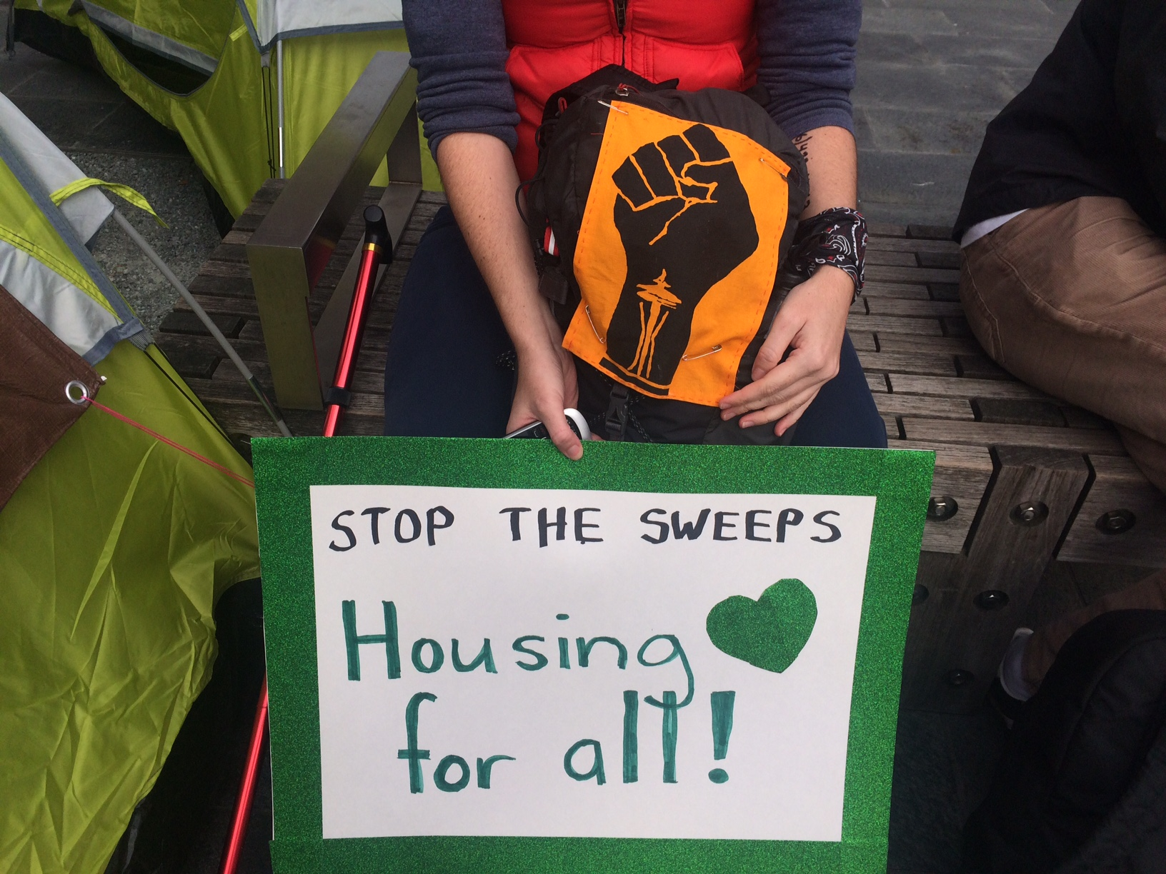 Photo of Seattle activists demand radical action on homelessness