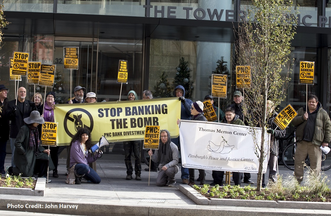 Photo of PNC Bank: Stop Banking The Bomb