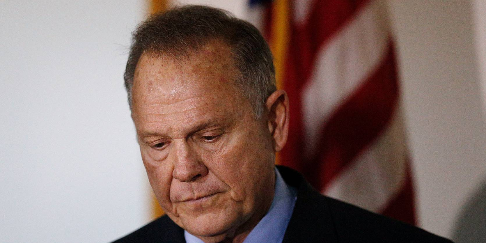 Photo of Republican candidate, sexual predator and bigot Roy Moore
