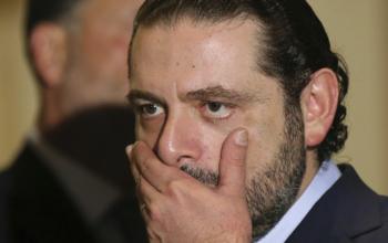 Former Lebanese Prime Minister Saad Hariri