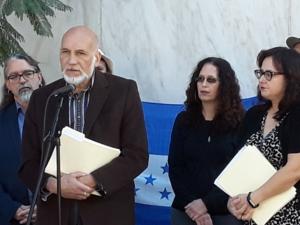 Joe Berra of the UCLA Human Rights Clinic