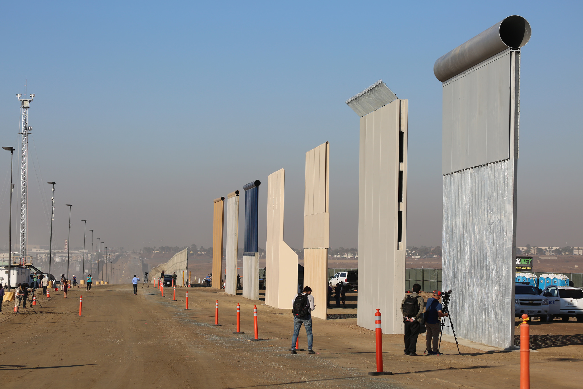 Photo of Trump's wall: another imperialist imprint in Tijuana, Mexico