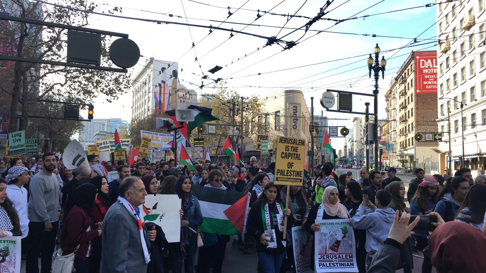 Bay Area rallies in solidarity with Palestine