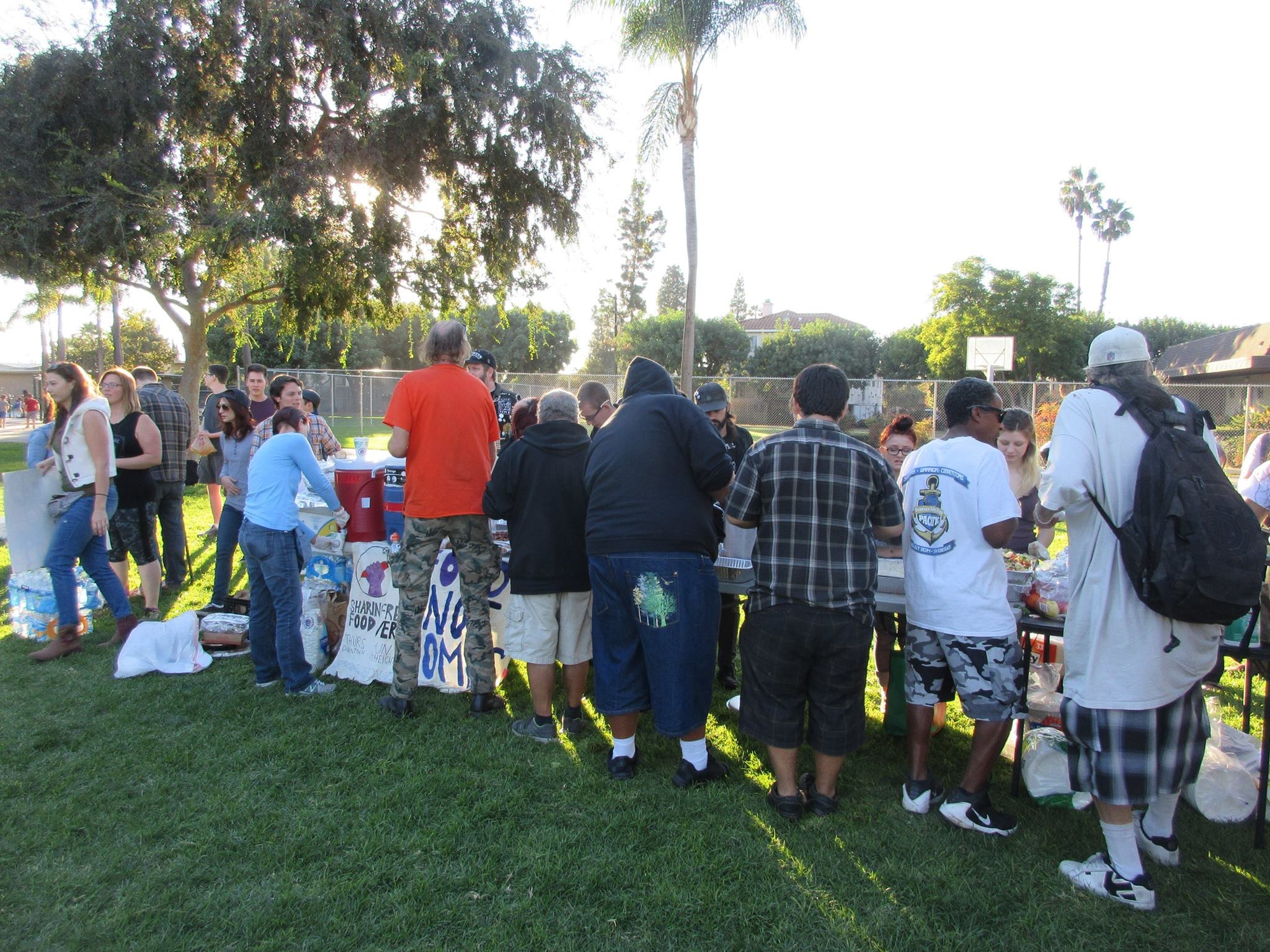 Photo of Community resists ordinance banning feeding homeless people