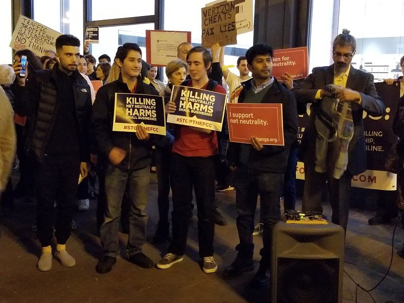 Photo of San Franciscans demand net neutrality
