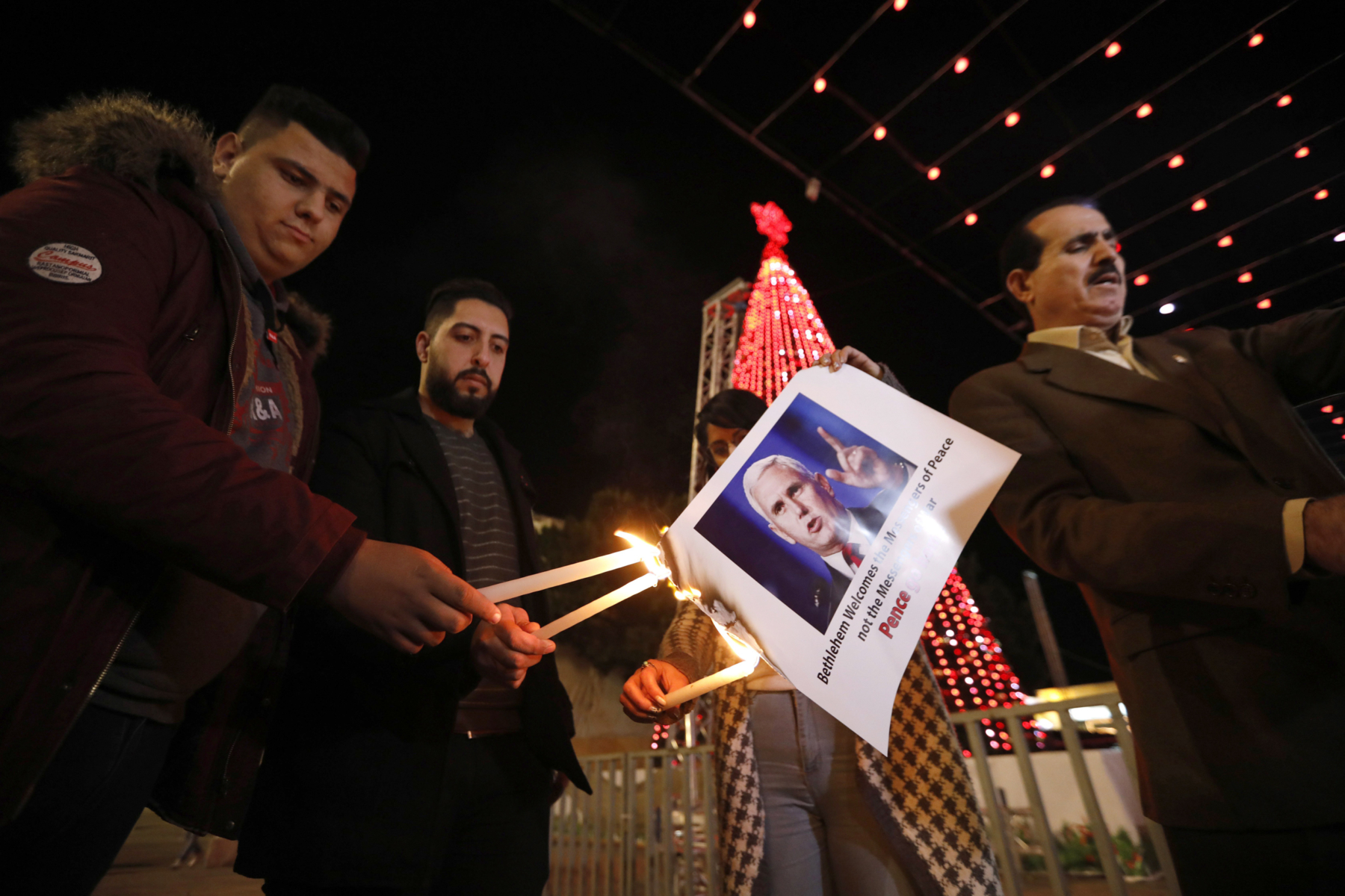 UN, Middle East Christians blast US decision on Jerusalem