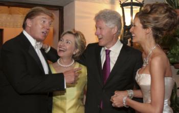 Donald Trump Sr. and Melania Trump Wedding, Self Assignment, January 22, 2005