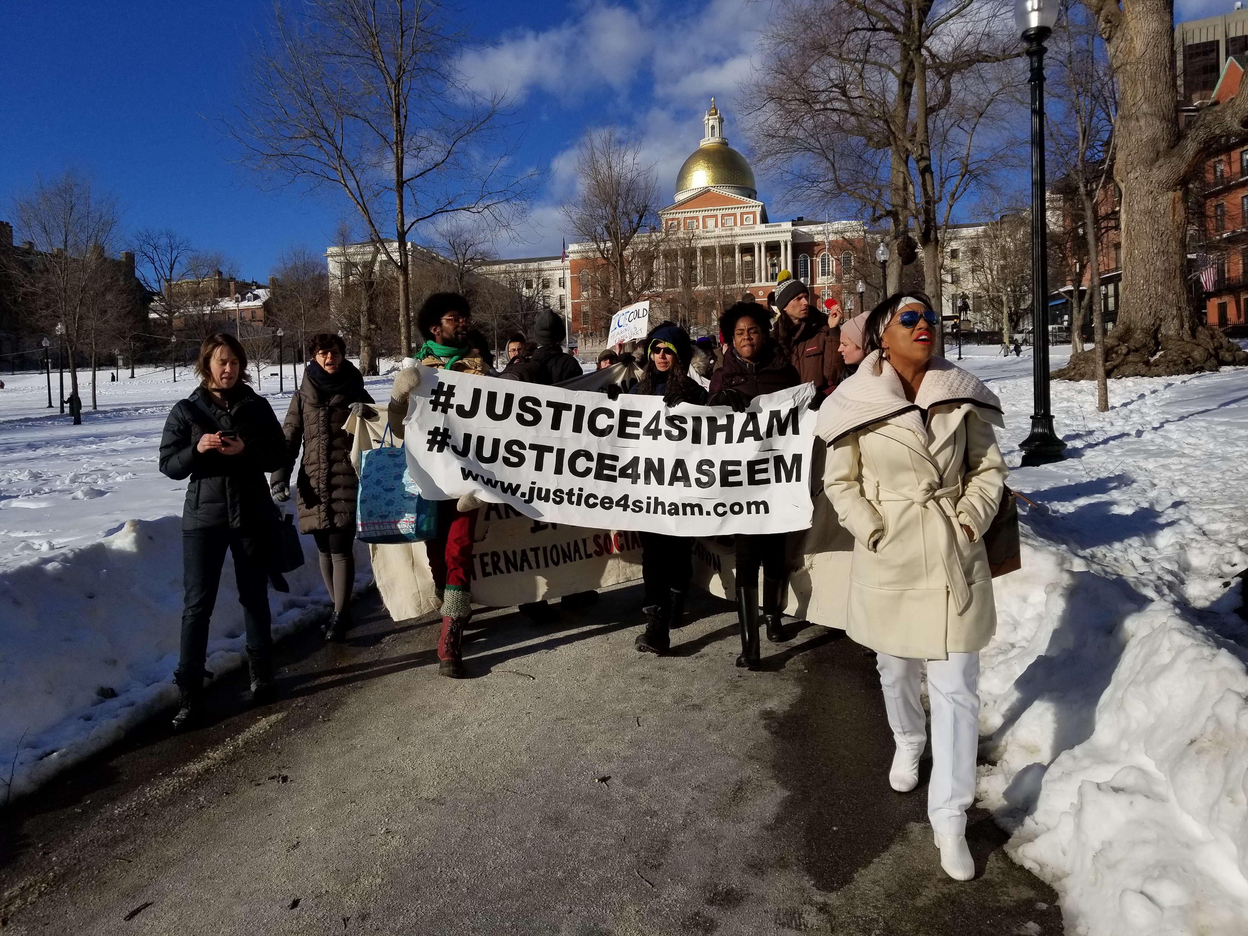 Photo of Boston Demands Justice4Siham
