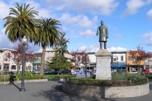 McKinley statue on Arcata Plaza. Photo: J Scott Shannon. CC BY-NC-SA 2.0