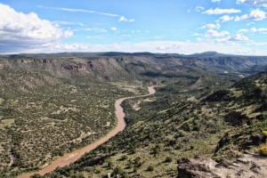 The Rio Grande, New Mexico's main water source. (Licensed for reuse)