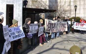 Let Yemen Live protest in New York City (11 December 2017) Photo: Felton Davis, CCA-2.0