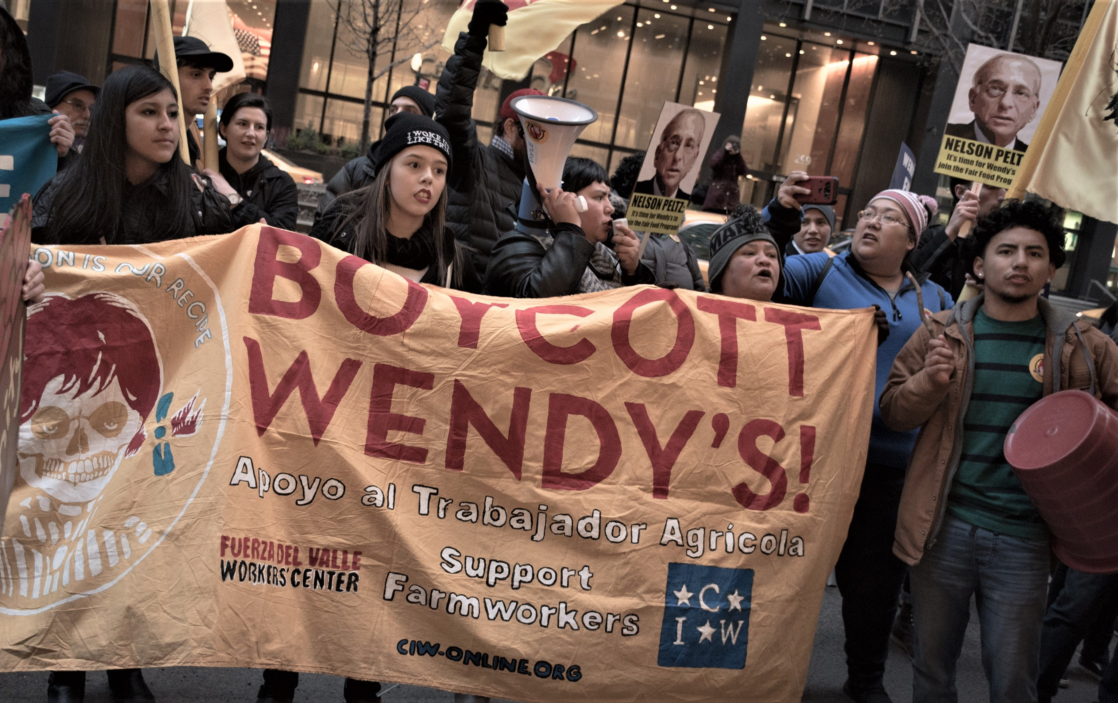 Photo of Farmworkers bring fight to end Wendy's poverty wages, sexual assaults to NYC