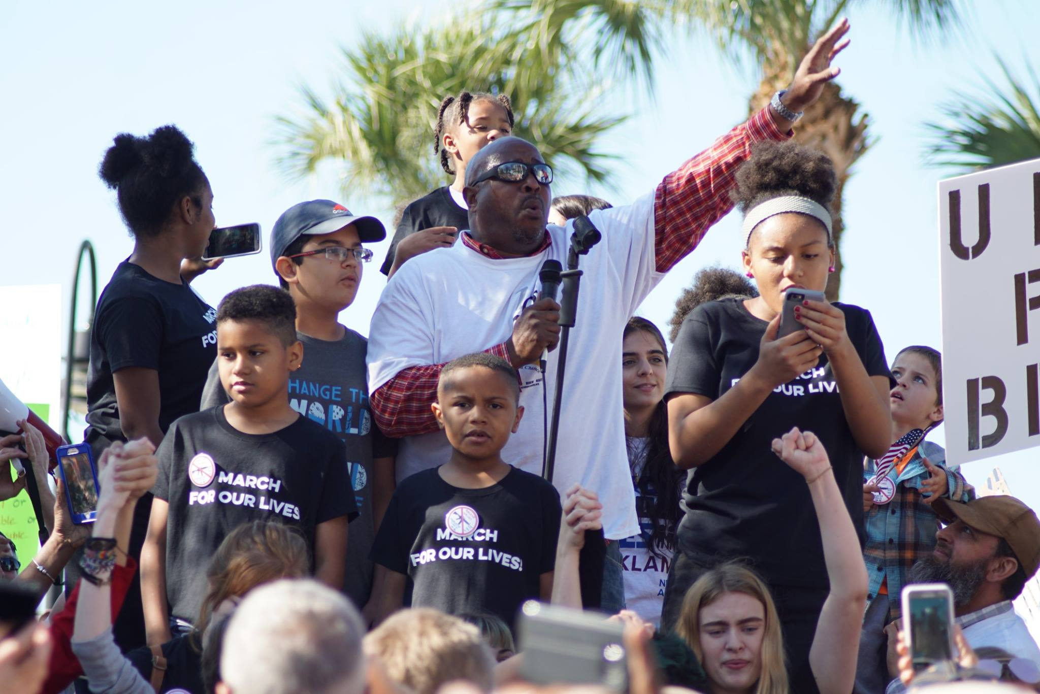 Photo of Multi-generational protests in Southwest Florida combat gun violence in US