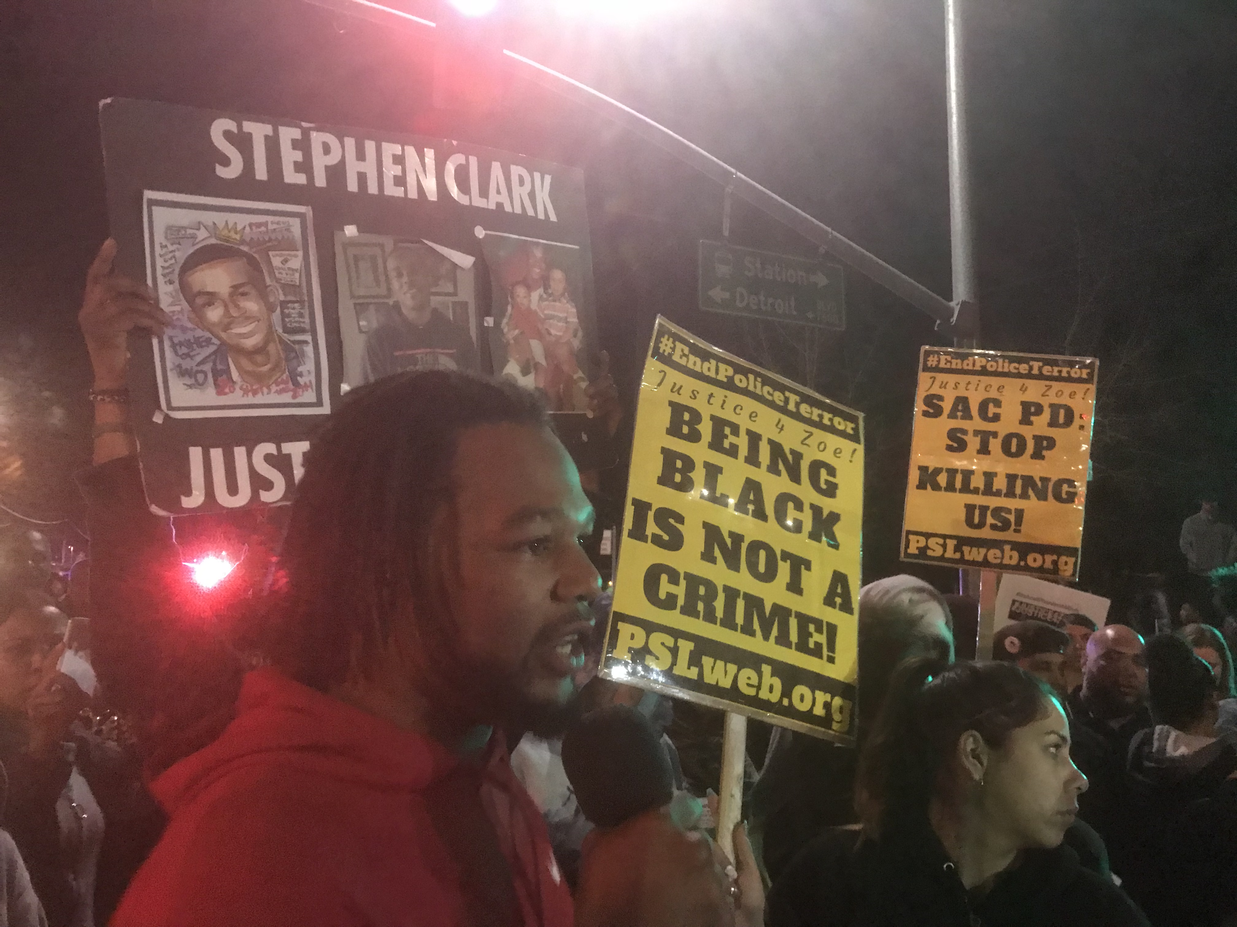 Photo of Back to back protests demand justice for Stephon Clark