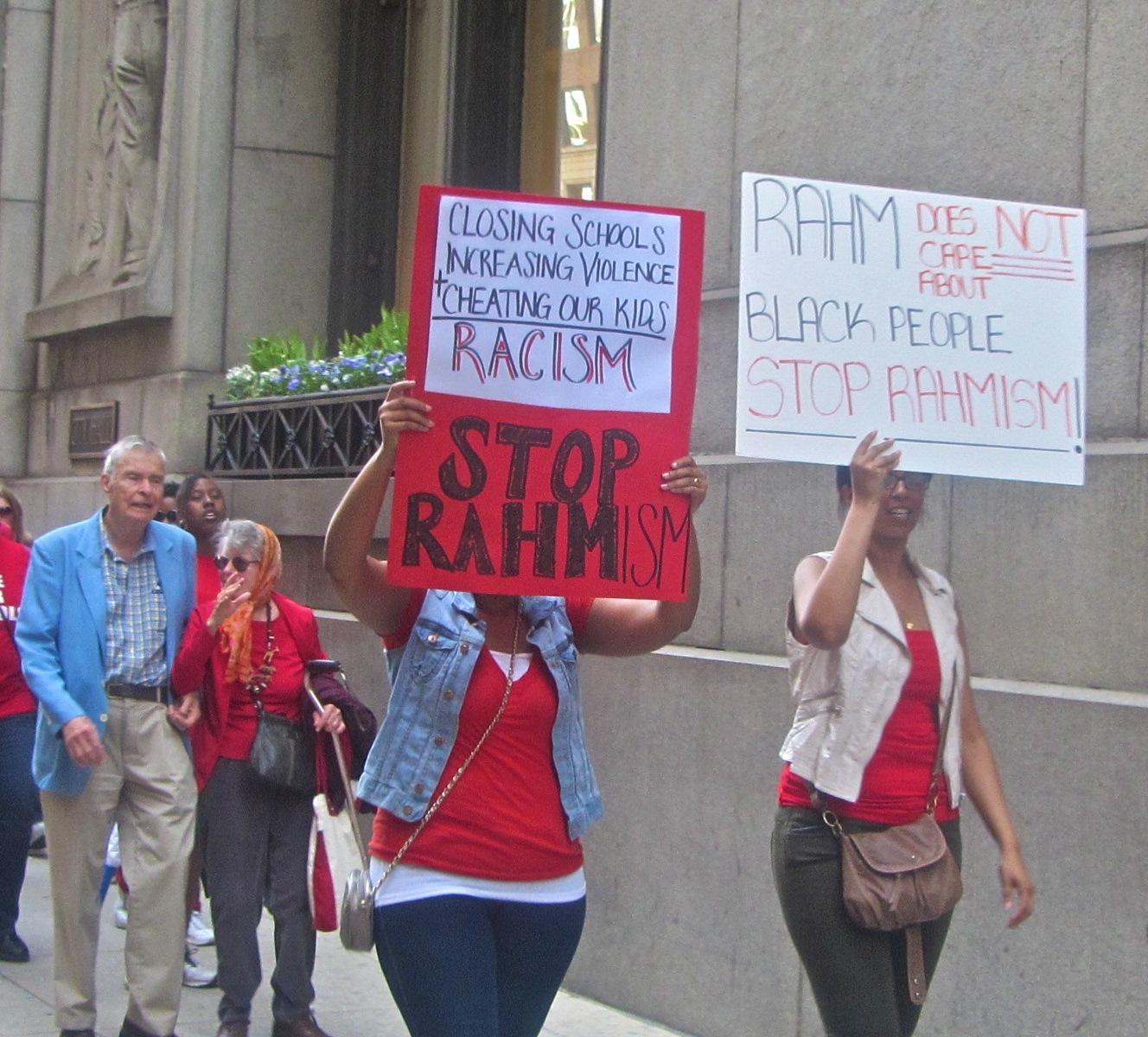 Chicago closes more schools in Black neighborhood