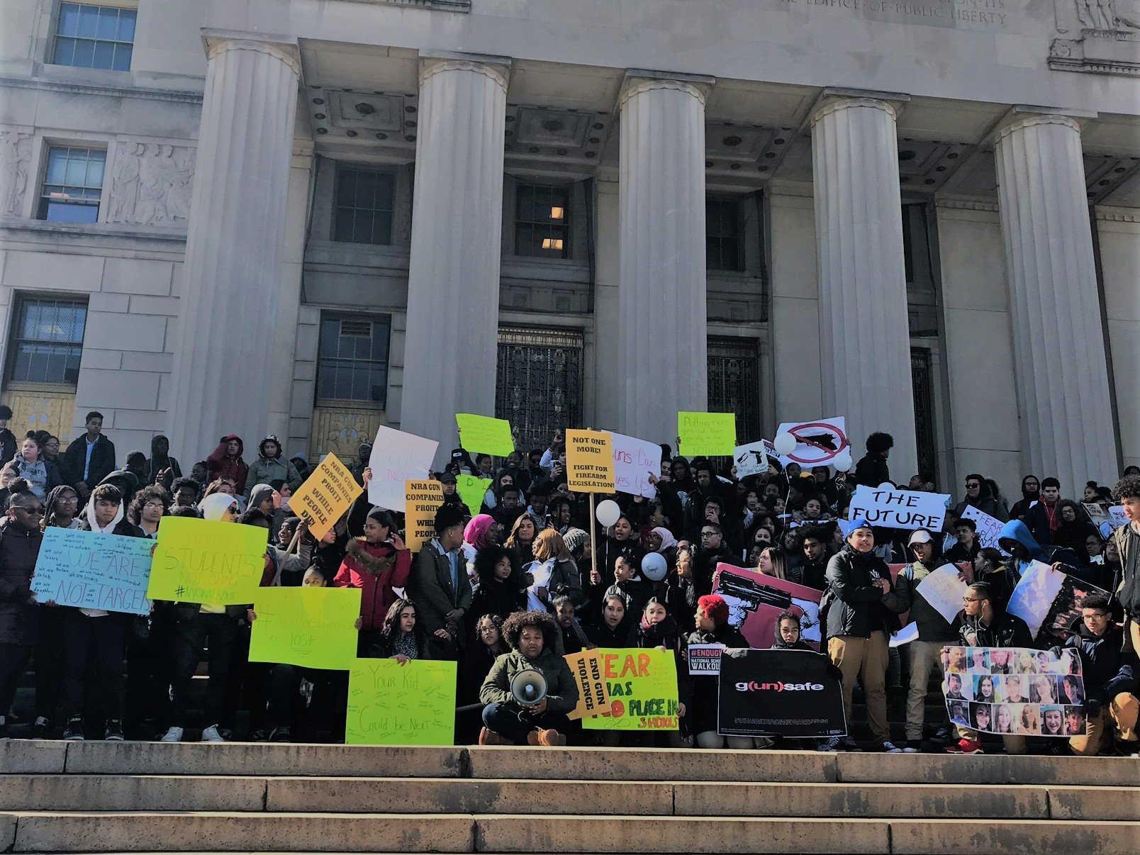 Violence Walkout: Local students seek culture change