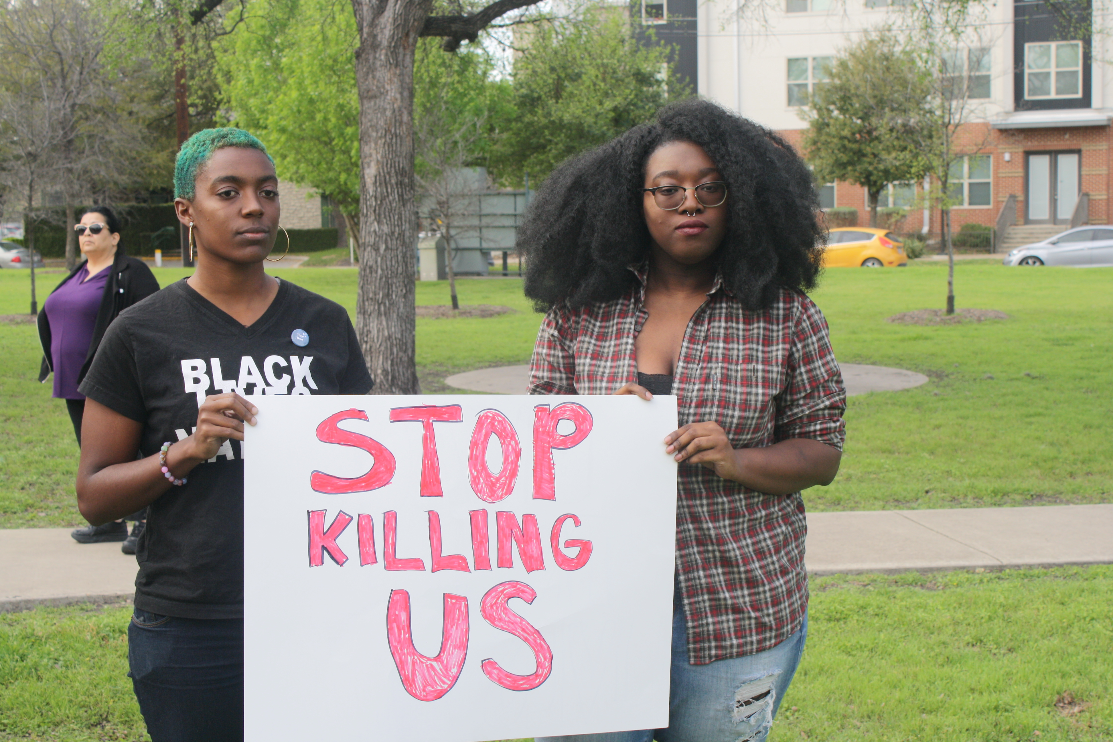 Photo of San Antonio trans community demands justice for Kenne McFadden