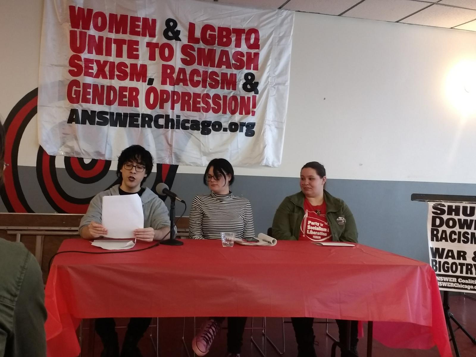 Photo of Chicago forum celebrates International Women's Day