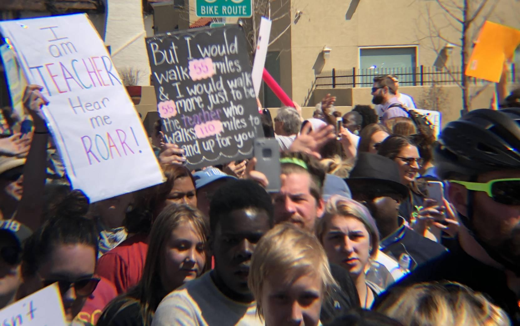Spirits high as Oklahoma teachers enter week 2 of strike
