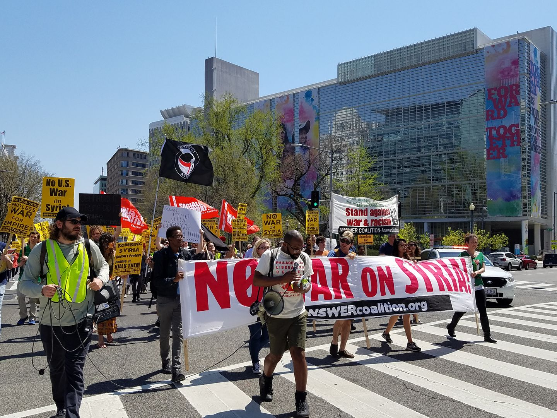 Washington, DC: Upholding Dr. King's anti-imperialism 50 years later