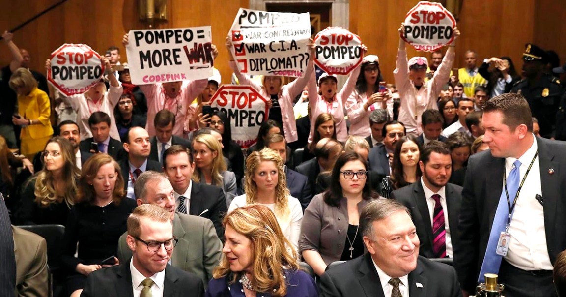 Photo of Senate approves extreme rightwinger Pompeo for Secretary of State