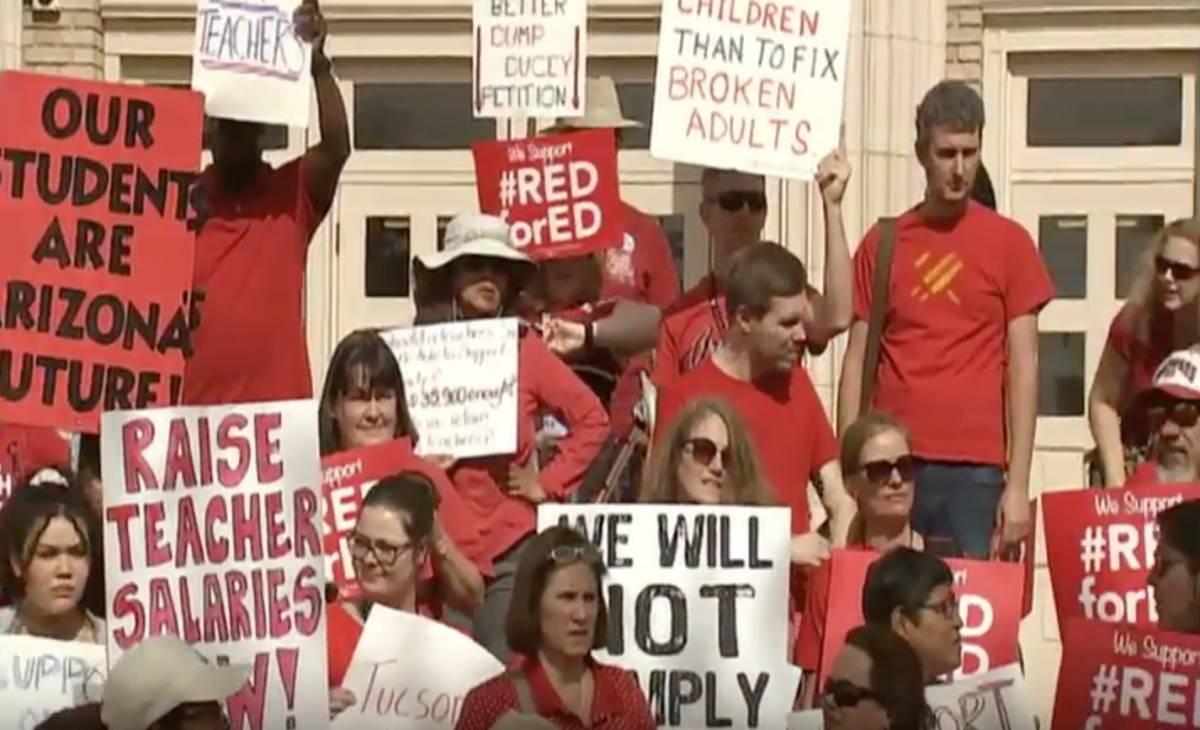 Photo of Arizona teachers  vote to strike