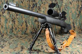 The U.S- supplied Remington M 24 is standard issue for snipers in the Israeli army.