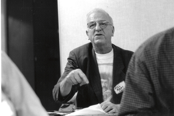 Bill Massey at founding convention of PSL in 2004. Photo: Bill Hackwell