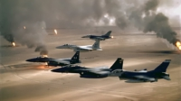 U.S. Air Force jets over Iraq