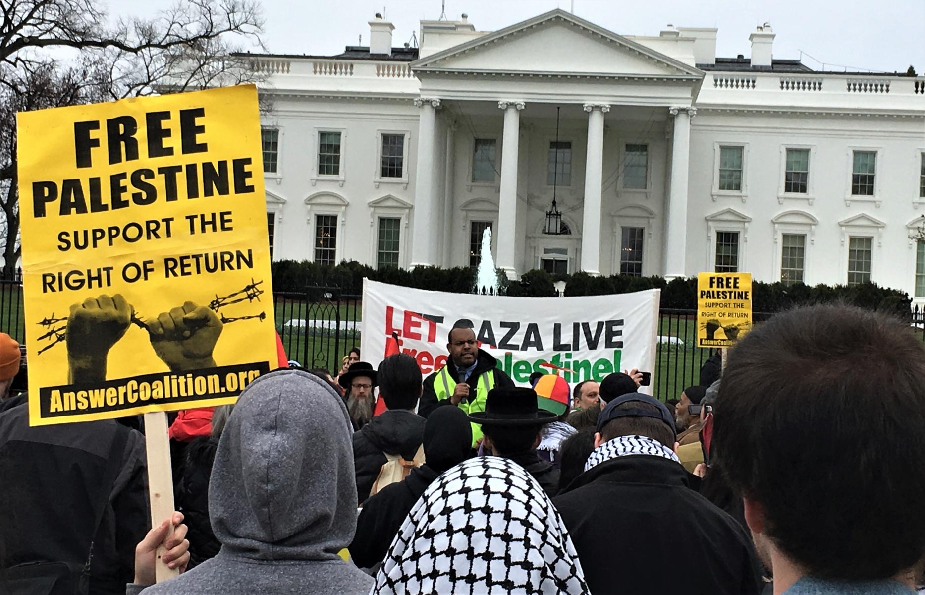 El Congreso intenta ilegalizar la oposición a Israel después de la masacre en Gaza
