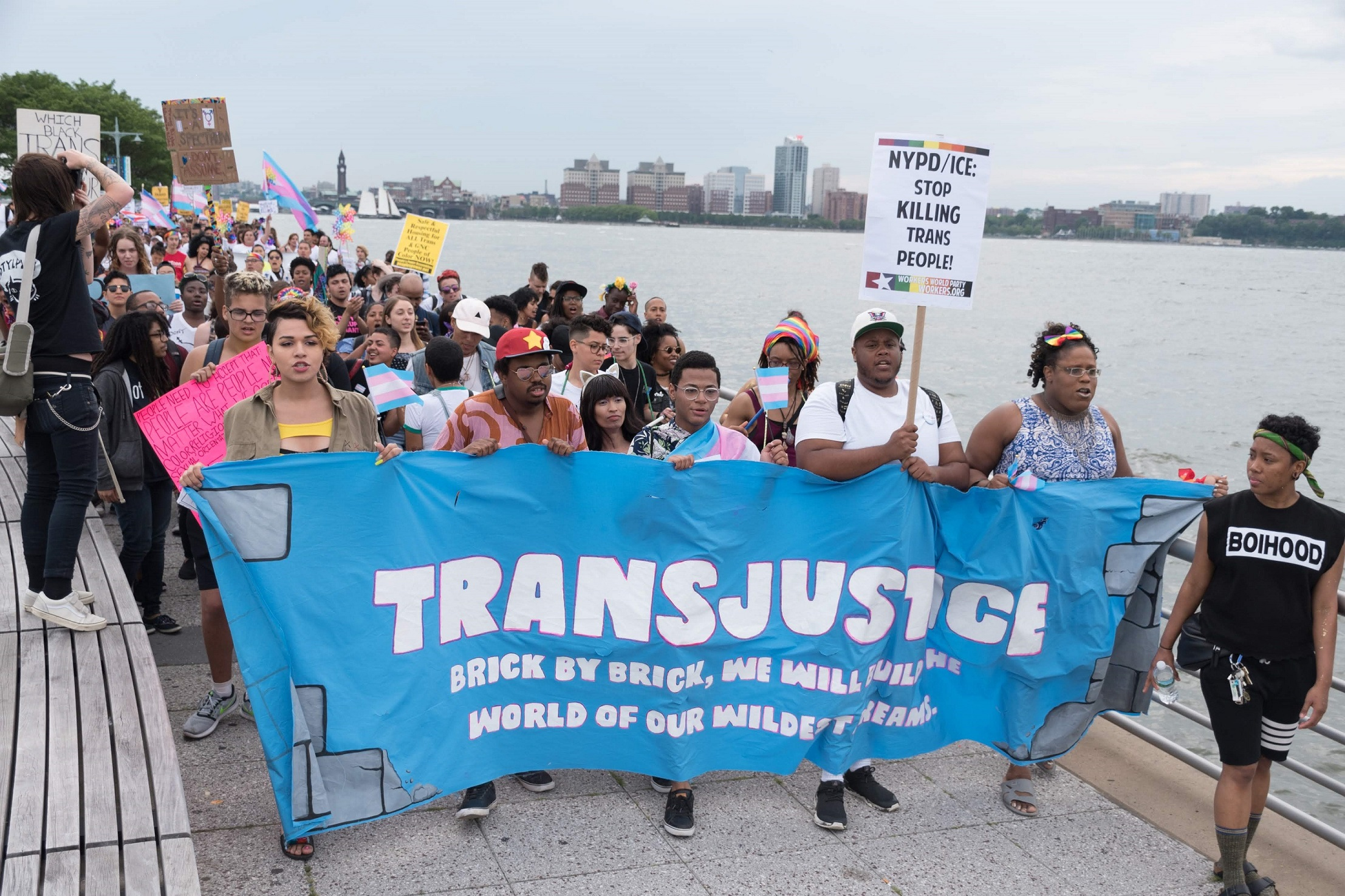 Photo of NYC's Trans Day of Action demands justice, an end to violence, protection for migrants