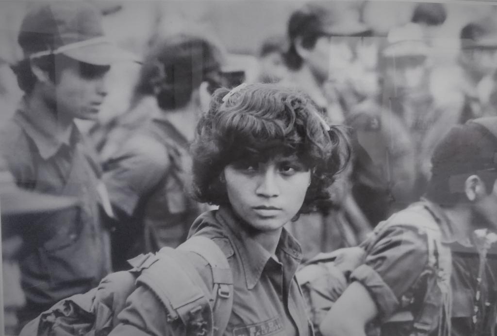 Guerrilla fighter in the Salvadoran civil war. Photo: El Museo de la Palabra e Imagen in San Salvador.