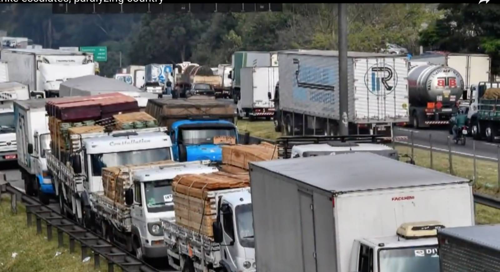 Eleven days that shook Brazil: Truckers' strike brings country to a halt