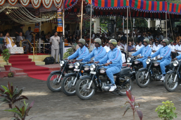 Police in Tamil Nadu. Photo: Sathishnayar
