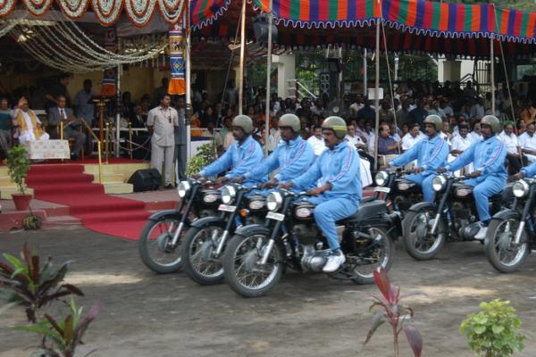 Police in Tamil Nadu. Photo: Sathishnayar