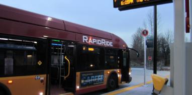 King County Metro RapidRide bus. Photo: SounderBruce. CC BY-SA 2.0