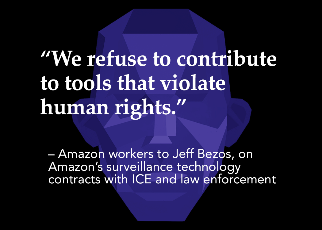 Photo of Tech won't build it: Amazon workers fight back against racist use of their product