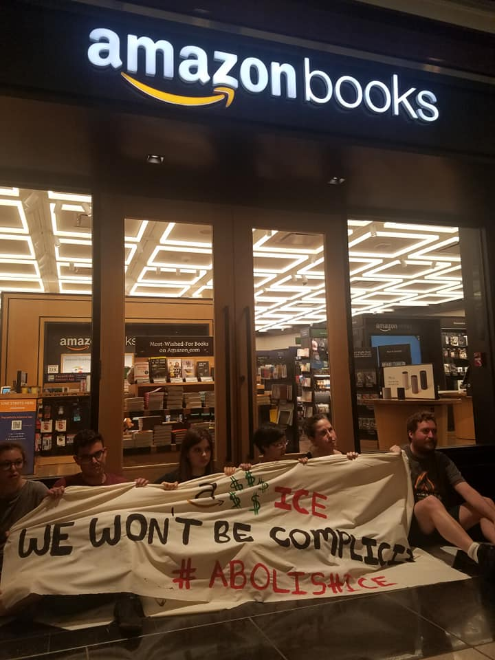 Photo of Activists support Amazon workers, immigrants in Day of Action