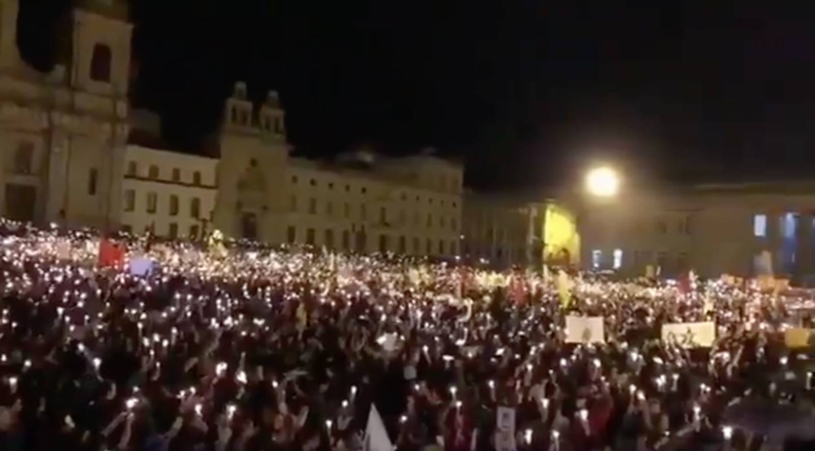 Photo of Worldwide vigils demand end to rightwing violence in Colombia