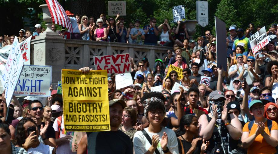Photo of Mass Action Aug. 12: NO Nazis, NO KKK in D.C.
