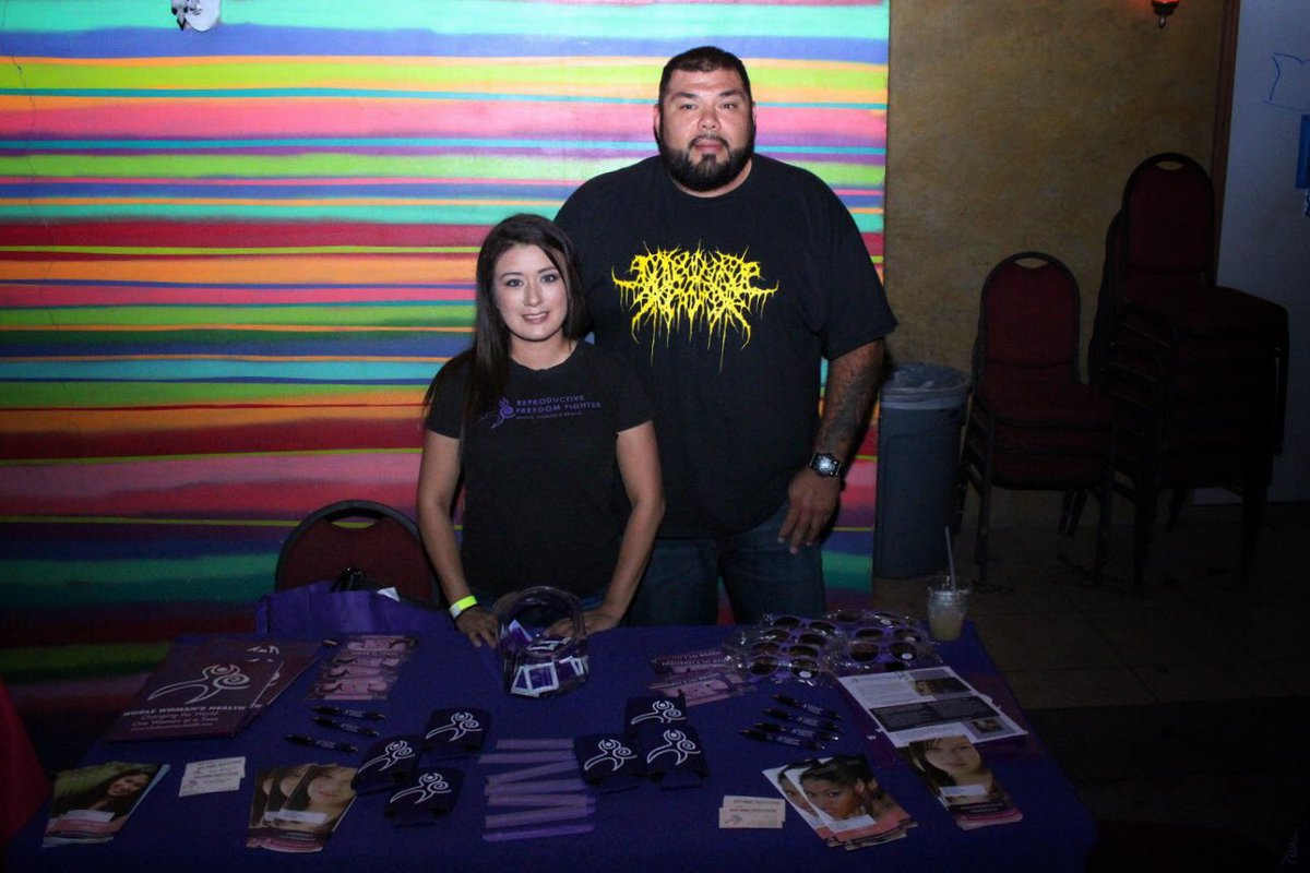 Photo of Justicia benefit concert for reproductive rights in McAllen, Tx
