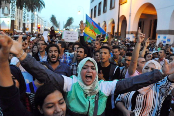 Protest in Morocco following death of fish seller
