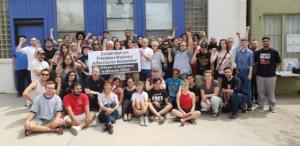 Venezuela solidarity at Southwest Socialism Conference day 2. Liberation photo.