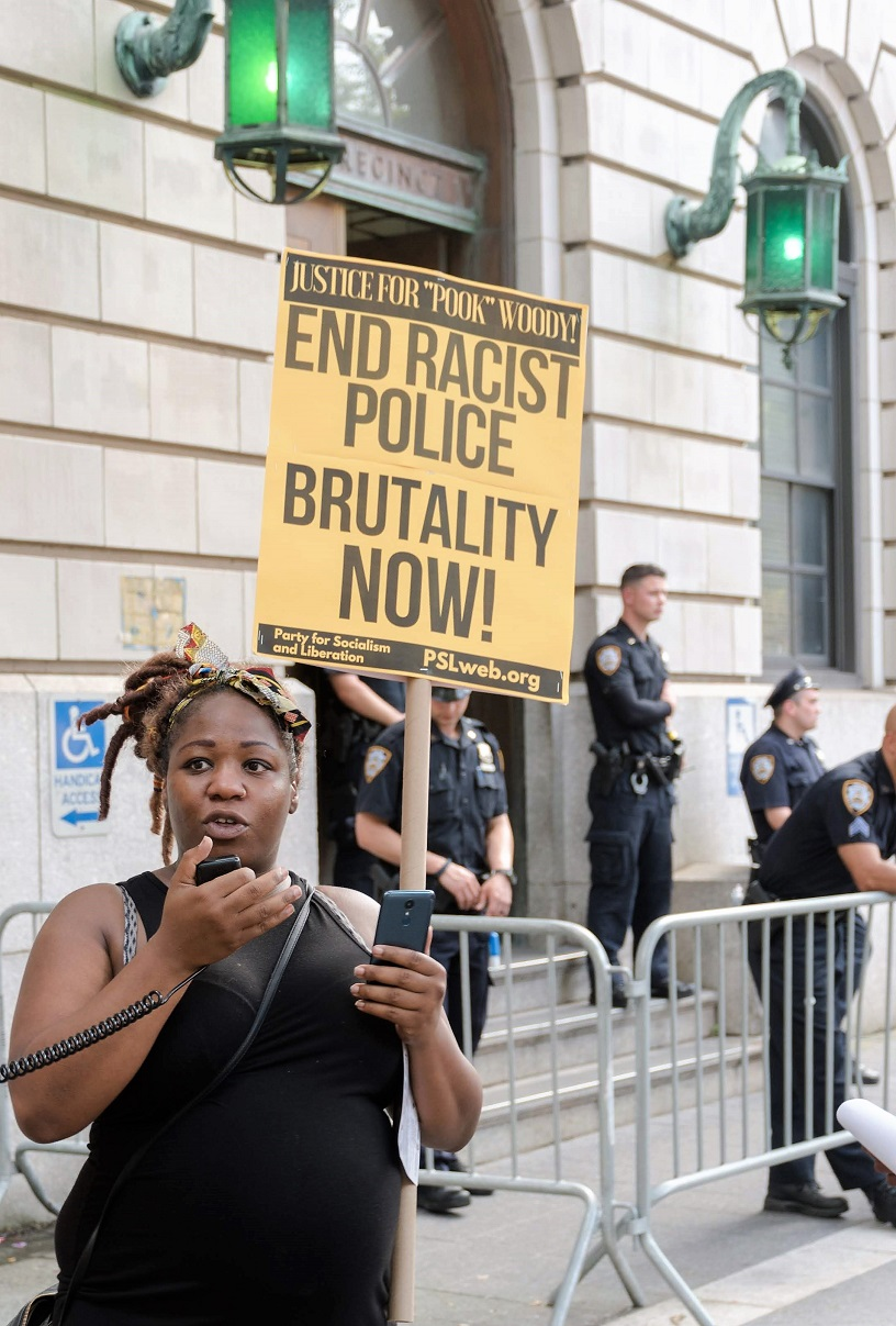 Rally targets Harlem police for brutality | Liberation News