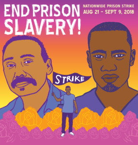 National Prison Strike graphic: Melanie Cervantes