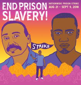 National Prison Strike graphic: Melanie Cervantes