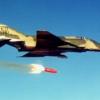 Prueba de bomba nuclear con el jet F-4 Phantom. Foto: Wikipedia Commons